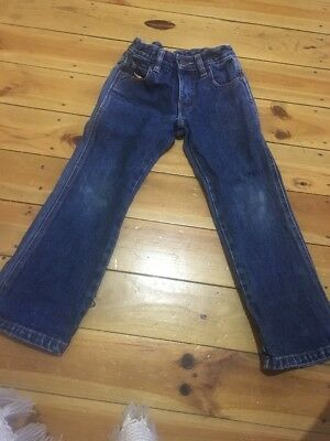 R M Williams Colt Blue Denim Jeans Size 4