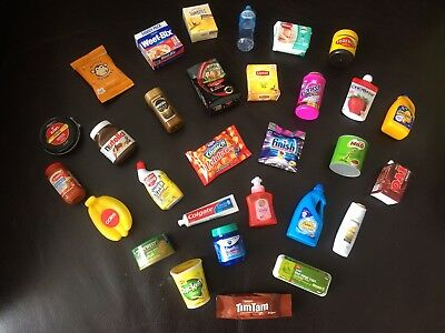 Coles Little Shop Mini Collectables  -  For Your Cute Little Coles Shopper