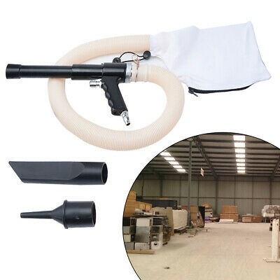 Air-Operated Suction Vacuum Blow Gun Kit Dust Blow Pneumatic Cleaning Tool Kit