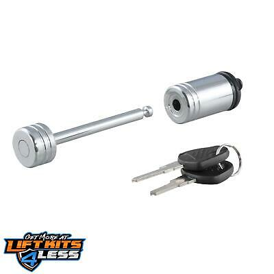 CURT 23522 Chrome Coupler Lock ALL Non-Spec Vehicle ALL Base