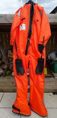 Nos Ps 5006 Viking Immersion Survival Abandonment Diving Suit Ships Boat Yacht