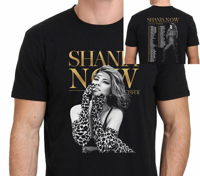 Popular 234 NEW SHANIA TWAIN NOW TOUR 2018 T-shirt S- 5 XL Mann - Frauen