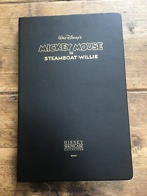 Rare Disney Showcase Mickey Mouse In Steamboat Willie 24k Gold 3 Card Set