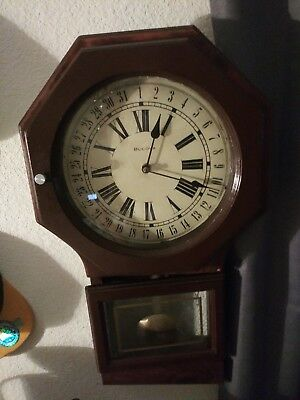 Vintage antique Bulova Grandfather Clock