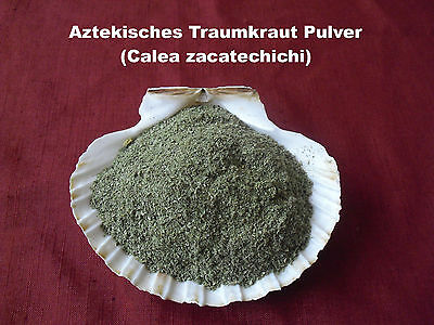 10g - 250g Aztekisches Traumkraut Pulver Calea zacatechichi Traumgras Dream herb