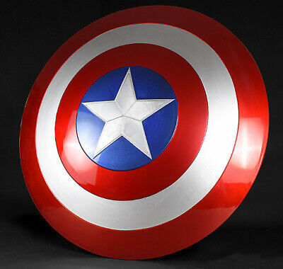Cattoys Marvel Avengers Captain America Steve Shield ABS 1:1 Model Statue 22""