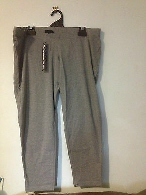 MATERNITY PLUS GREY MERLE LEGGINGS BNWT SZ M FREE POSTAGE (f64