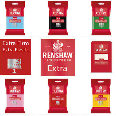 Renshaw Extra Ready To Roll - Extra Firm Extra Elastic 250g 500g 750g 1KG 2.5KG