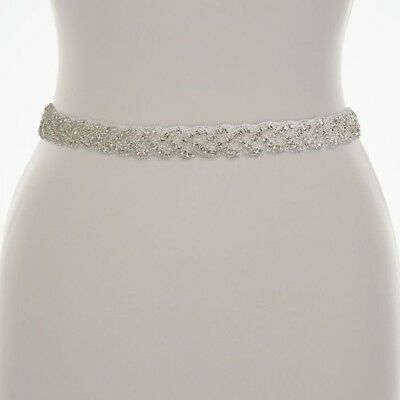 NEW Lilly Bella Bridal Belt Cassandra Perfect Condition Ivory Ribbon