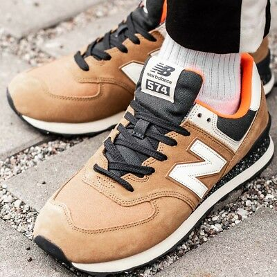 low cost ff370 a4050 NEW BALANCE 574 Sneakers chaussures hommes sport loisir basket brun ML574HVB