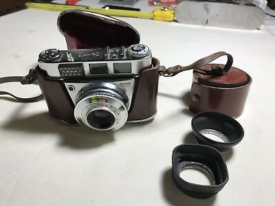 Vintage Kodak Pronto LK Camera 1:28/45mm Made In Germany With Case