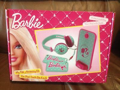 Barbie My Fab Accessory Kit For Ipod Touch Gen 4 & 5 Brand New In Box Cool