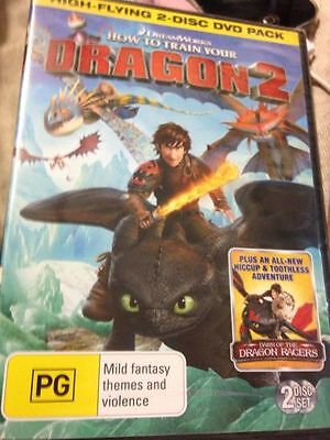 How To Train Your Dragon (DVD, 2010, 2-Disc Set) brand new free postage