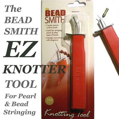 EasyKnotter or Beadsmith EZ Knotter Knotting Choose Tool, Pearl & Bead Stringing