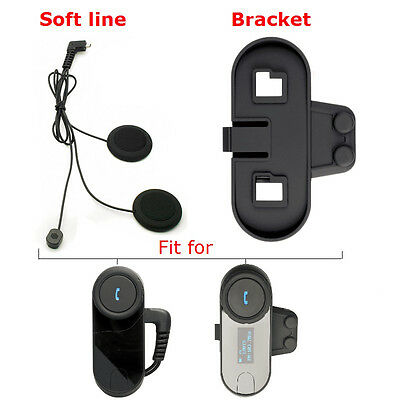 FreedConn TCOM-SC Soft Line+Clip for Motorcycle Bluetooth Headsets 800M Intercom