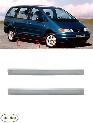 Seat Alhambra 7M 1996 - 2001 2X Side Outer Full Sill Cover Replacements L + R