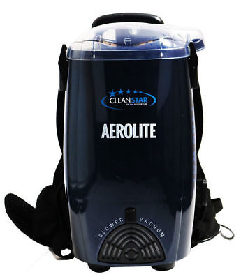 Cleanstar Aerolite 1400 Watt Backpack Vacuum and Blower VBP1400 Black
