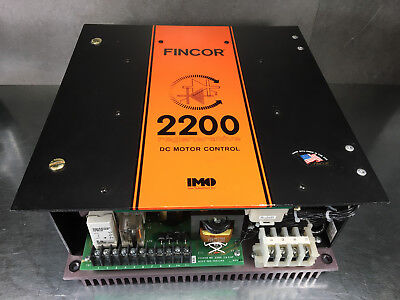 Fincor 2200S DC Motor Control for 3HP