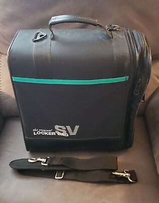 OGIO The Original SV Locker Bag Gym Bag Black Teal with Shoulder Strap 7facafd9b7909