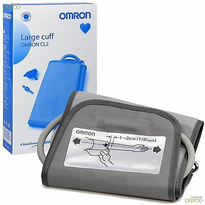 Omron Blood Pressure Monitor Upper Arm Adults Replacement Large Cuff 32-42cm CL2