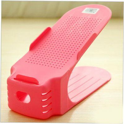 Adjustable shoe rack Two-piece household products daily life supplies