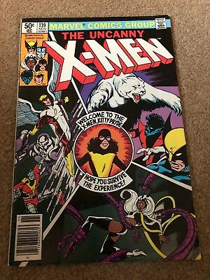 Uncanny X-Men #139 (Vol One 1980) Monumental First Kitty Pryde appearance