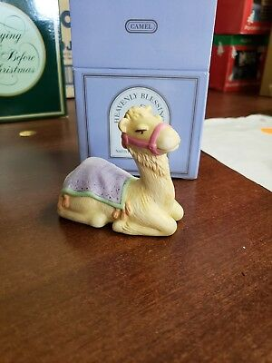 Vintage AVON 1986 CAMEL Figurine from the Heavenly Blessings Nativity Collection