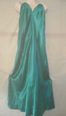 Sz Lg Frederick's Of Hollywood Glamorous Long Sexy Vintage Nightgown