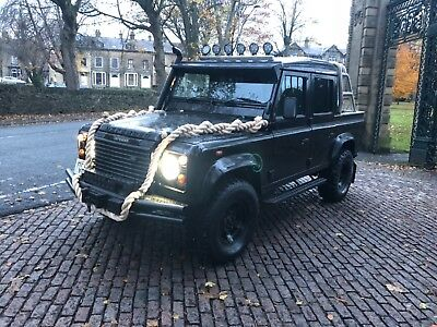 2003 Land Rover 110 Defender TD5 Double Cab Pickup - Spectre - 3 Owners - FSH
