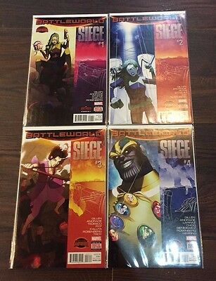 Siege (2015) #1 2 3 4 5 1-5 1St Print Set Nm Secret Wars W/ Unused Digital Codes