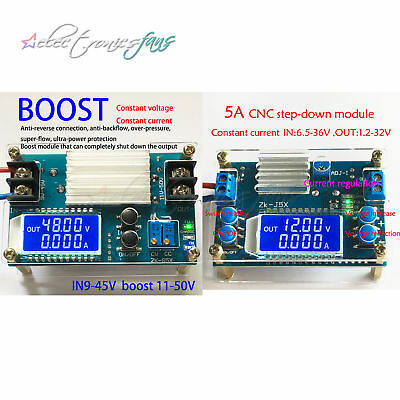 DC-DC 5A Boost/step-down constant voltage constant current power supply module