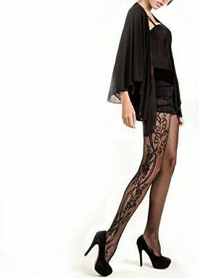 Killer Legs Women Scalloped Thigh High Fishnet Tights One Size Stocking