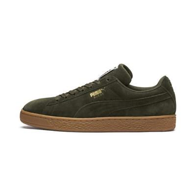 PUMA SUEDE CLASSIC + Olive Night Birch Gold Mens Size Sneakers ... 1a0d59e0f