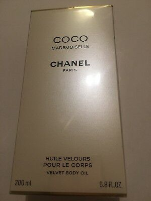 Chanel Coco Mademoiselle Huile Pour Le Corps 200ml Neuf