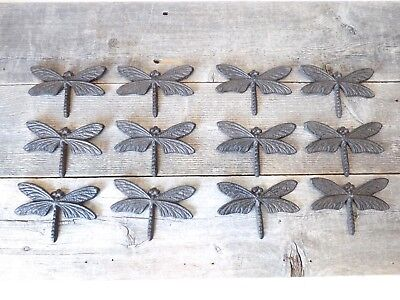 12 Dragonflies Dragon Fly Bug Wall Decor Kitchen Home Bathroom Shed Garden Insec