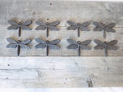 8 Wall Decor Dragonflies Dragonfly Bug Insect Kitchen Bathroom Vintage Looking