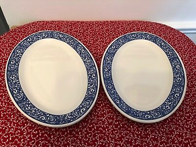 Vintage 2 Side Plates, Mayer China of Beaver Falls, PA, #470, by Interpace