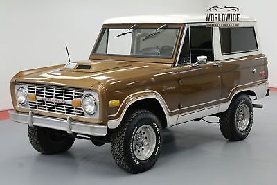 1975 Ford Bronco Uncut Ranger! 302V8 Auto New And Beautiful