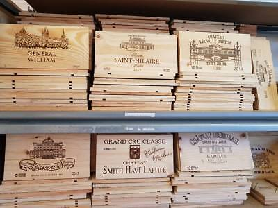 One Square Metre Of French Wine Wooden Box End Panel Wall Plaque Home Bar Pub-