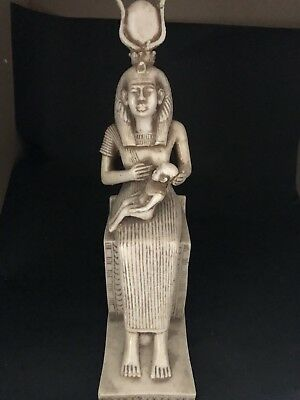 Rare Large Ancient Egyptian ISIS Nursing Horus  (c. 2686–2181 BCE )