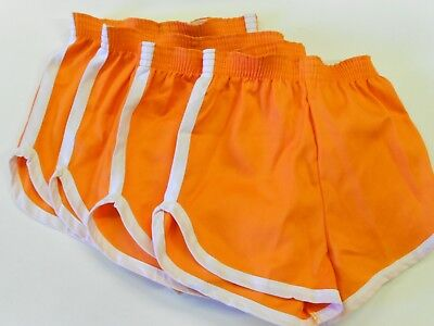 "LOT 4 Pair NOS '70's-'80's Youth (Rick)Gym/Team/Workout Shorts. M. 23""-25"" Waist"