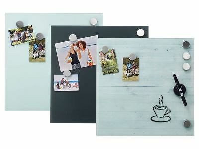 Magnettafel Magnetboard /'That/'s Life Heart Messages/' inklusive 16 Magnete