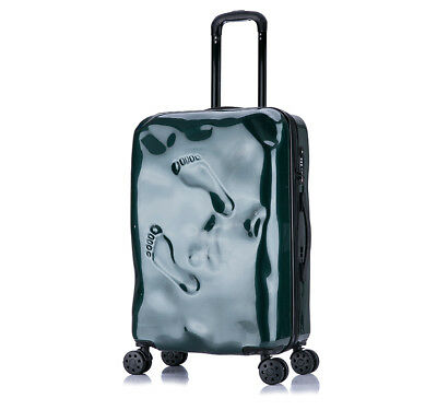 D30 Green Coded Lock Universal Wheel Travel Suitcase Luggage 24 Inches W