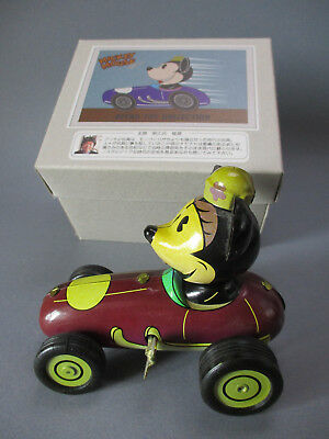 Tin wind-up Toy Minnie Mouse Racing, retro toy collection, Young epoch Co.LTD