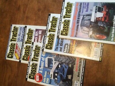 Classic Tractor Magazines From number One(51 In All)