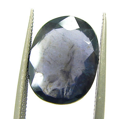 4.45 Ct Certified Natural Iolite Loose Gemstone Oval Stone - 108640