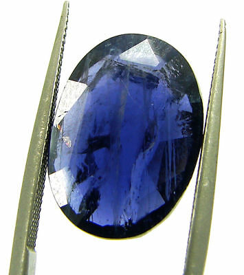 6.00 Ct Certified Natural Iolite Loose Gemstone Oval Stone - 108671