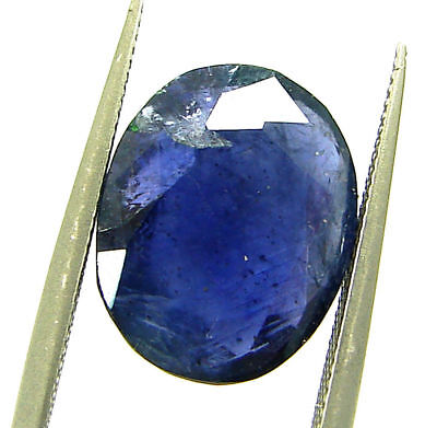 3.85 Ct Certified Natural Iolite Loose Gemstone Oval Stone - 108636