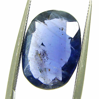 4.45 Ct Certified Natural Iolite Loose Gemstone Oval Stone - 108670