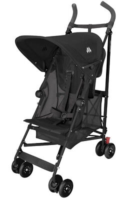 Maclaren Volo Stroller 2015 Black NEW!! w/BMW cup Holder Free.